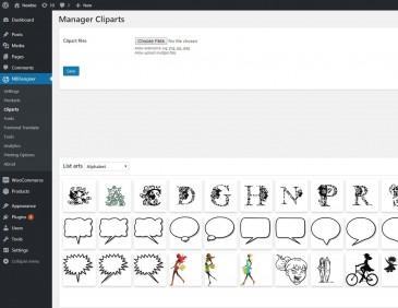 screenshots Wordpress PrintStore Websites with Online Designer Packages