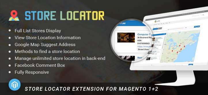 Store Locator Extension For Magento 2