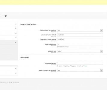 screenshots M2 Locator   Magento 2 Store Locator Extension Development