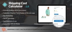 Shipping Cost Calculator Extension For Magento 2