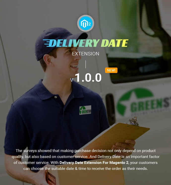Delivery Date Extension For Magento 2