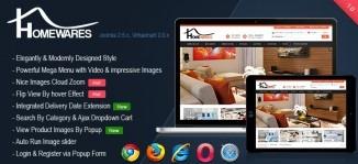 Virtuemart Homewares Template