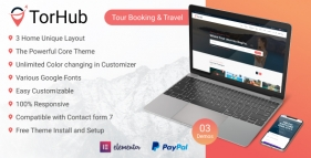 TorHub - Travel Agency Wordpress Theme and Booking Solution