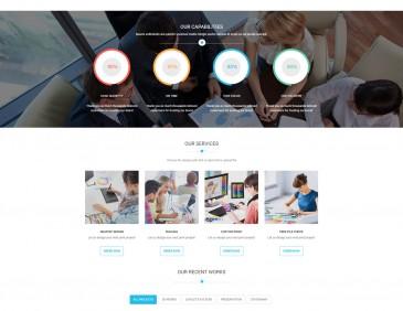 screenshots Printshop - WordPress Responsive Printing Theme