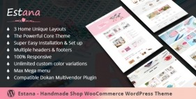 Handmade Marketplace WooCommerce WordPres Theme