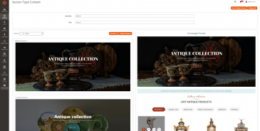 screenshots Mag2Antique - Magento 2 Theme for Antique Store Marketplace