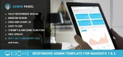 Magento Responsive Admin Template