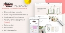 Aidoo - WordPress Wedding card printing theme
