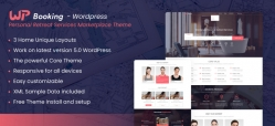WP Booking - Wordpress Personal Retreat Services Marketplace Theme