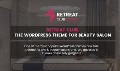 Retreat Club – The Wordpress Theme For Beauty Salon