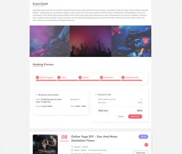 screenshots WPEvent – WooCommerce Event Ticket & Calendar