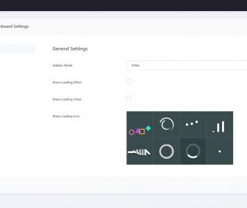 screenshots WP ADMIN | Wordpress Admin Front End Dashboard
