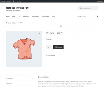 screenshots WOO INVOICE | WooCommerce PDF Invoices Pro