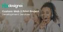 Custom Web 2 Print Project Development Services