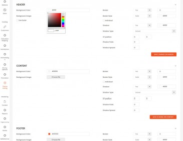 screenshots Magento Sales & Marketing Solution