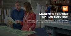 Magento Printing Option Solution