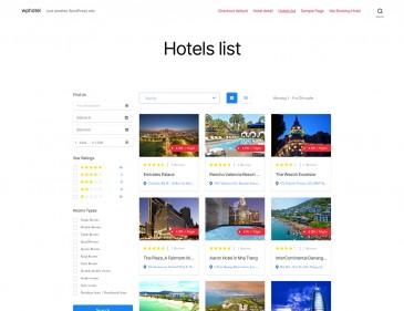 screenshots WordPress Booking Hotel