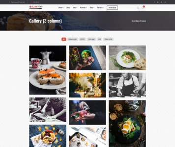 screenshots SushiFoo - Sushi Restaurant WordPress Themes