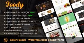 Bakery Goods - WordPress Cake & Food Theme