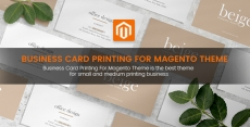 Business Card Printing For Magento Theme