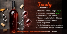 Wine House - Wine Shop WordPress Theme