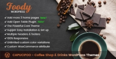 CAPUCIFOO - Coffee Shop & Drinks WordPress Themes