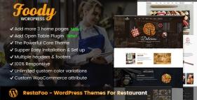 RestaFoo - WordPress Themes For Restaurant