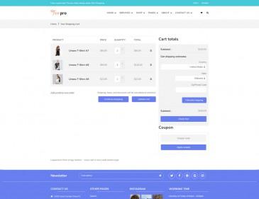 screenshots TEEPRO - T-shirt Printing And Dropshipping Shopify Theme