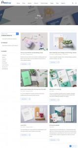 screenshots Magento Canvas & Wall Art Printing Theme