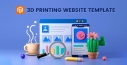 3D Printing Website Template