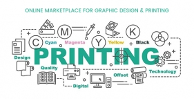 Online Marketplace For Graphic Design & Printing