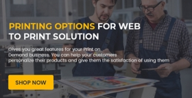 Printing Options for Web to Print Solution