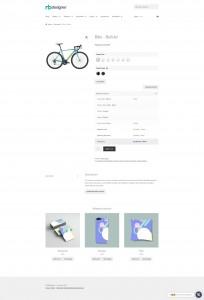 screenshots Printing Options for Web to Print Solution