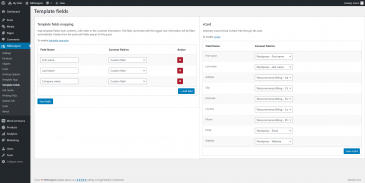 screenshots Website2Print Admin Management Dashboard