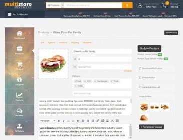 screenshots Wordpress Theme Layout Setting