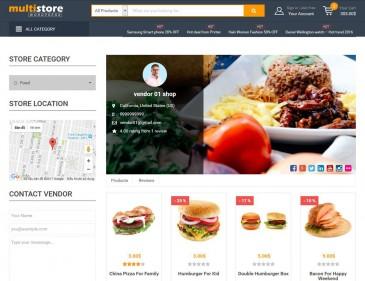 screenshots WooCommerce Multiple Store