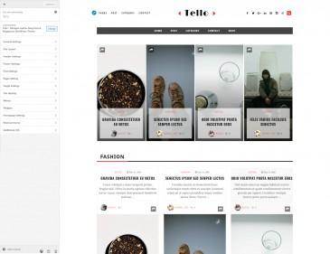 screenshots Tello - Multi Author WordPress Blog Theme