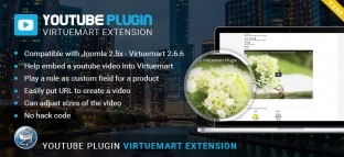 Youtube Virtuemart Plugin