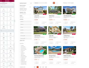 screenshots WordPress Real Estate Management