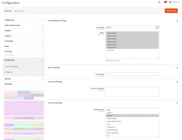screenshots Email Marketing - Multistore Marketplace Magento 2