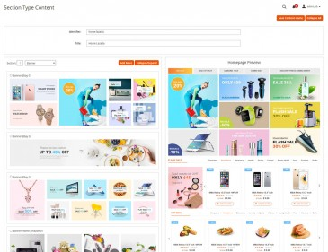 screenshots Advanced Reports - Multistore Marketplace Magento 2