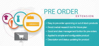 Magento Pre-order Extension