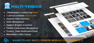 Marketplace Multi Vendor Module for Magento 2