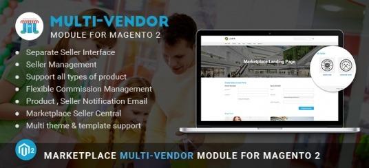Marketplace Multi Vendor Module for Magento 2