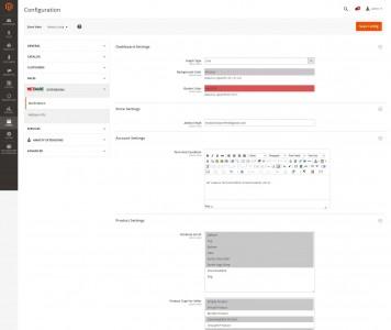 screenshots M2 MULTIVENDOR | Magento 2 Muliple Vendor Extension