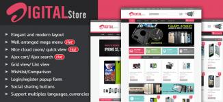 Magento Digital Store Theme