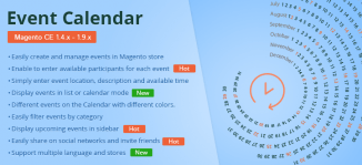 Event Calendar Magento Extension - MageBuzz