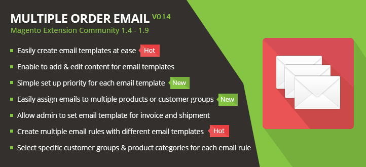 Multiple Order Email Magento Extension - MageBuzz