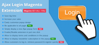 Ajax Login Magento Extension - MageBuzz