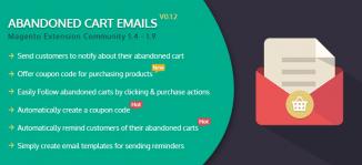 Abandoned Cart Emails Magento Extension - MageBuzz